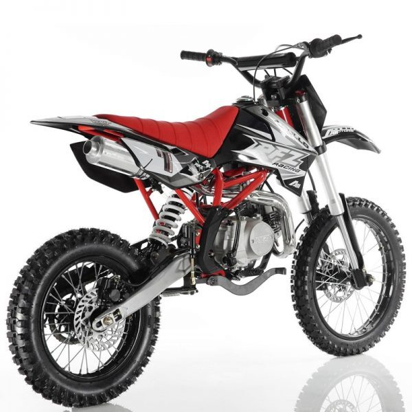 apollo db x18 125cc dirt bike4 speed manual clutch frontrear 1714 wheels free shipping1