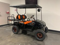Bintelli Custom Golf Cart – Lifted Black / Orange