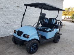 Bintelli Custom Golf Cart – Sky Blue/Black